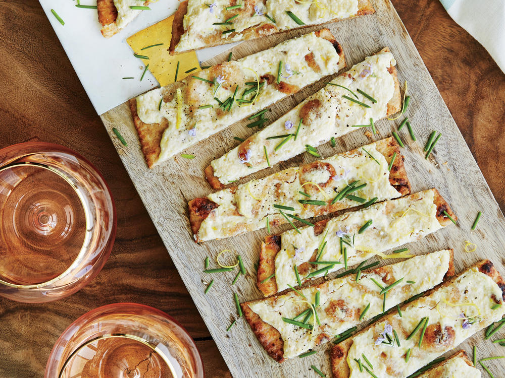Lemon-Ricotta Herbed Flatbread