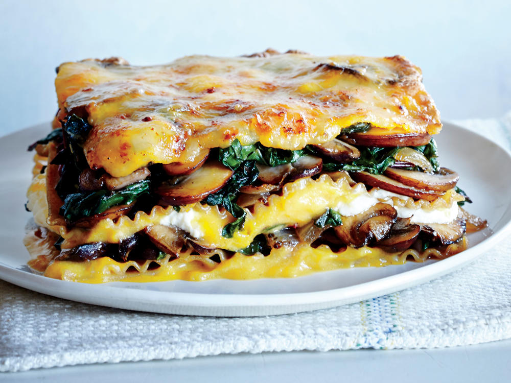 Vegetable Lasagna with Butternut Béchamel