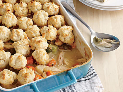 Arkansas: Drop Biscuit Chicken Potpie