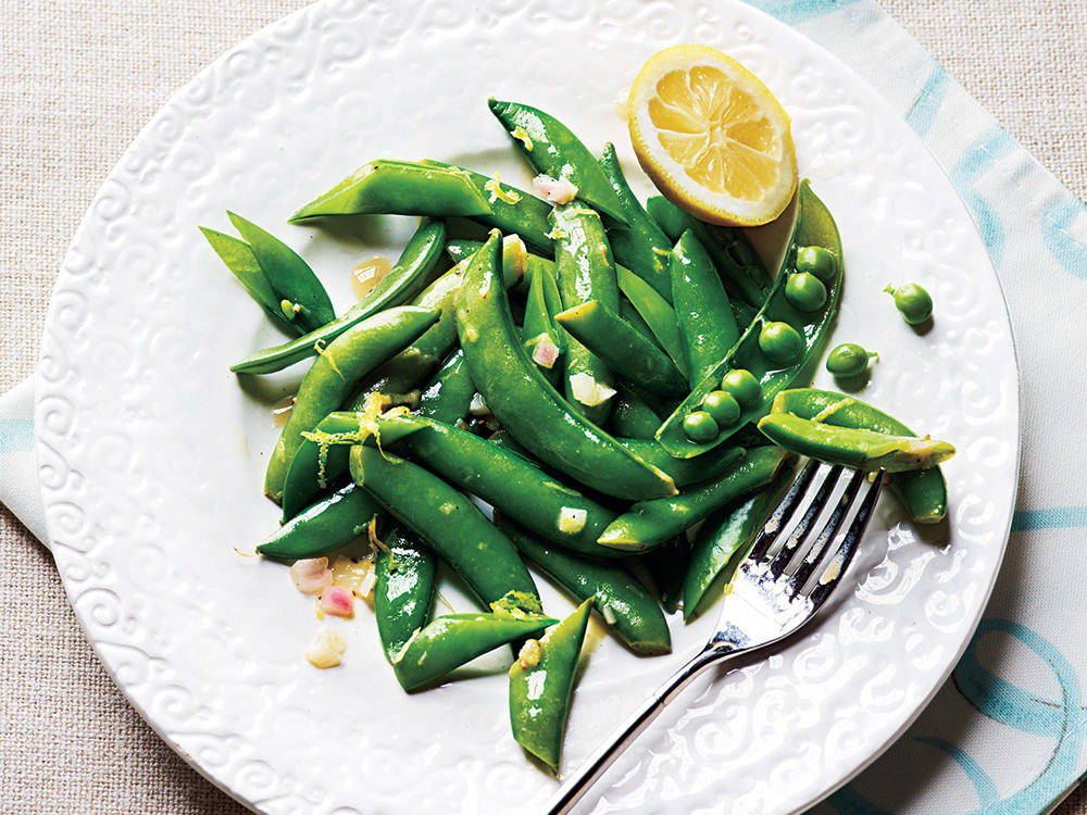 Spring Vegetables and Fruits: Peas