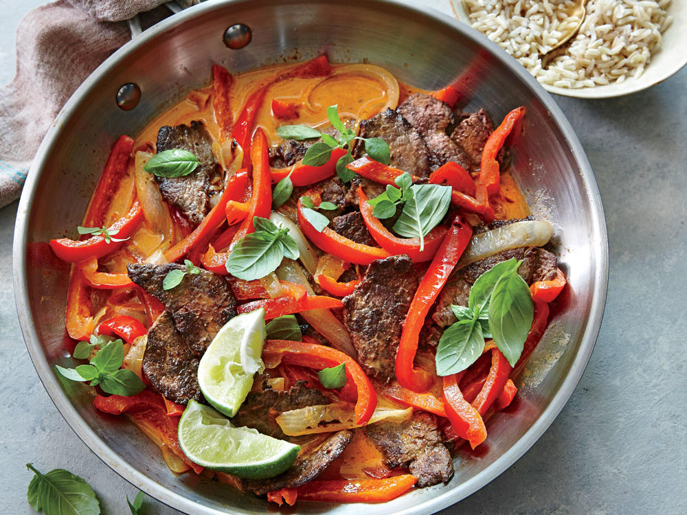 Spicy Thai Red Curry Beef