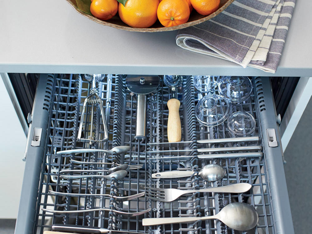 Keep It Separate: Dishwasher with a Third Rack