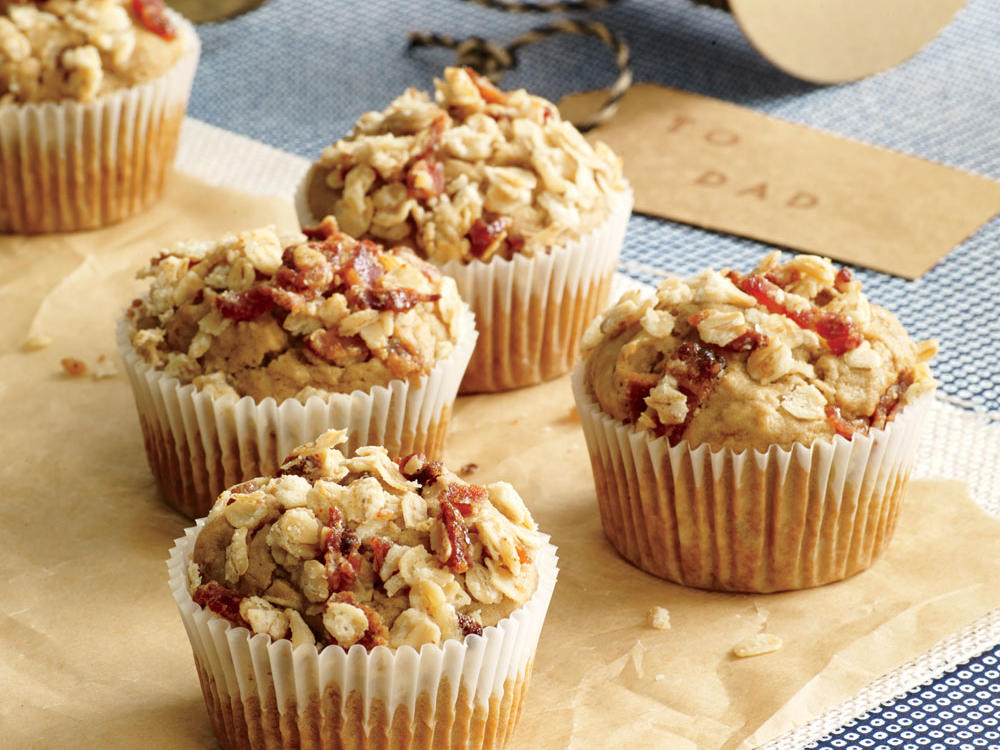 Bacon and Brew Muffins