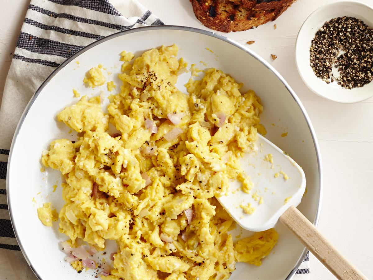 Scrambled Eggs and Miso