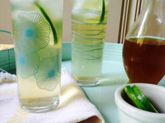Ginger Tea Coolers