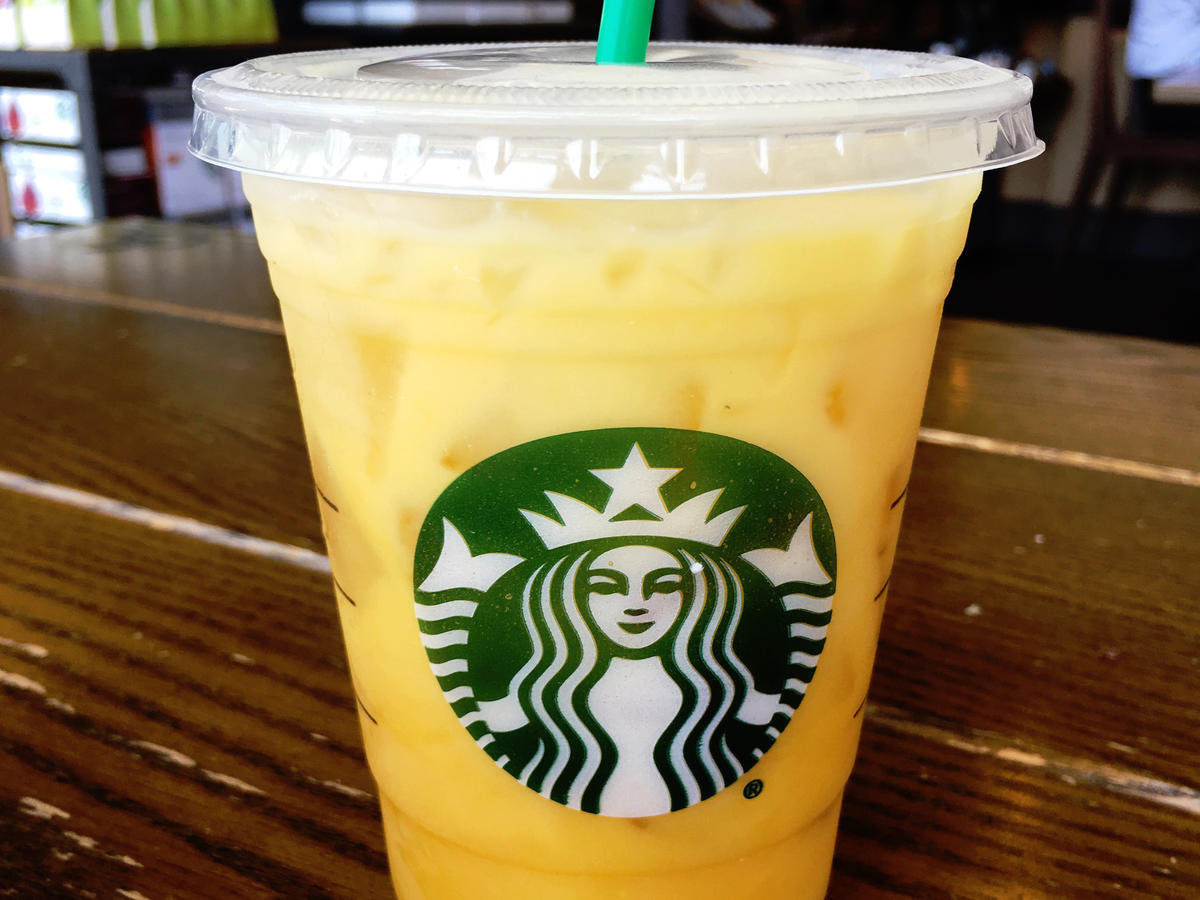 Starbucks Orange Drink