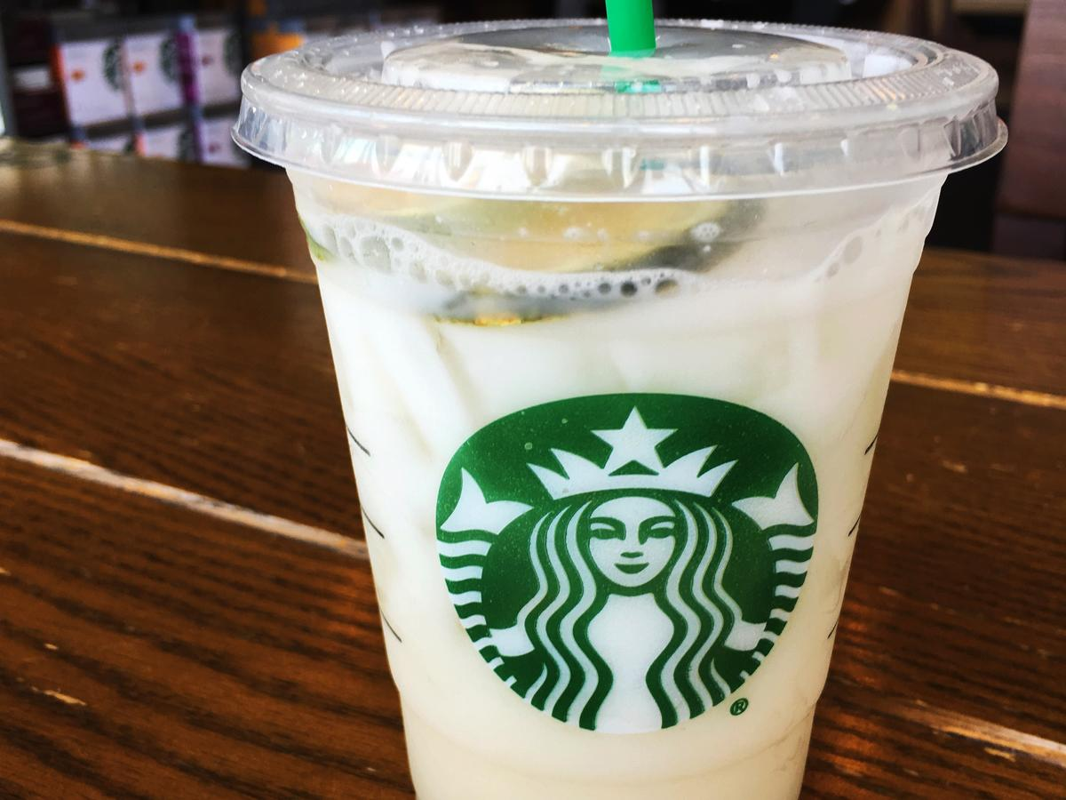 starbucks lime refresher drink