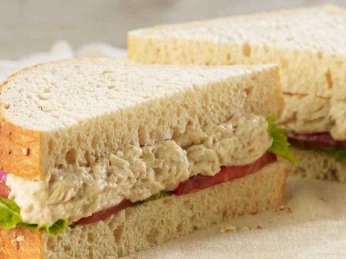 Panera Bread Tuna Salad Sandwich