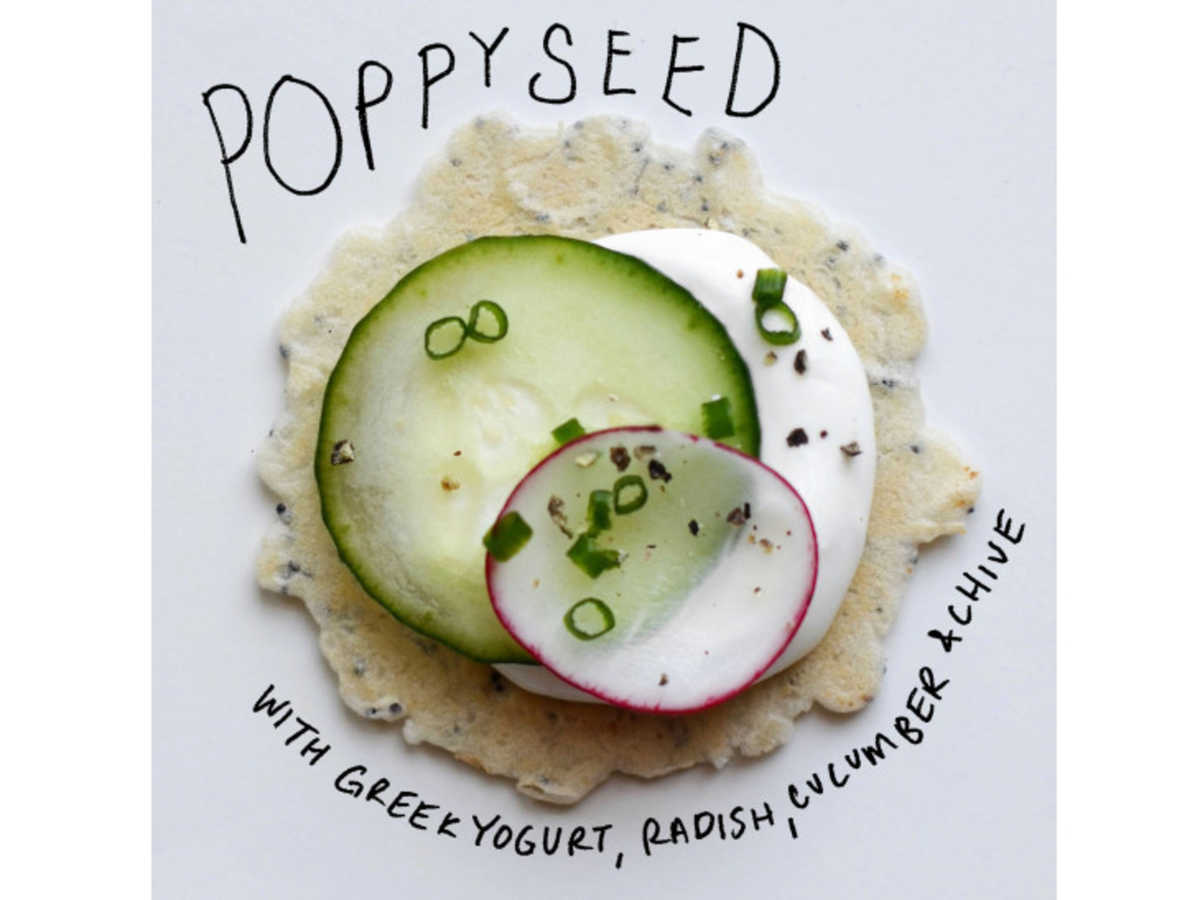 poppyseed cracker toppings image