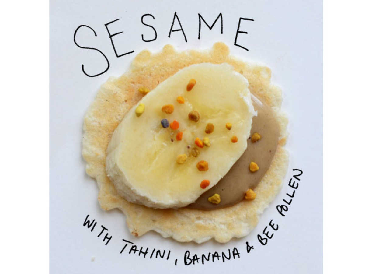 sesame cracker toppings image