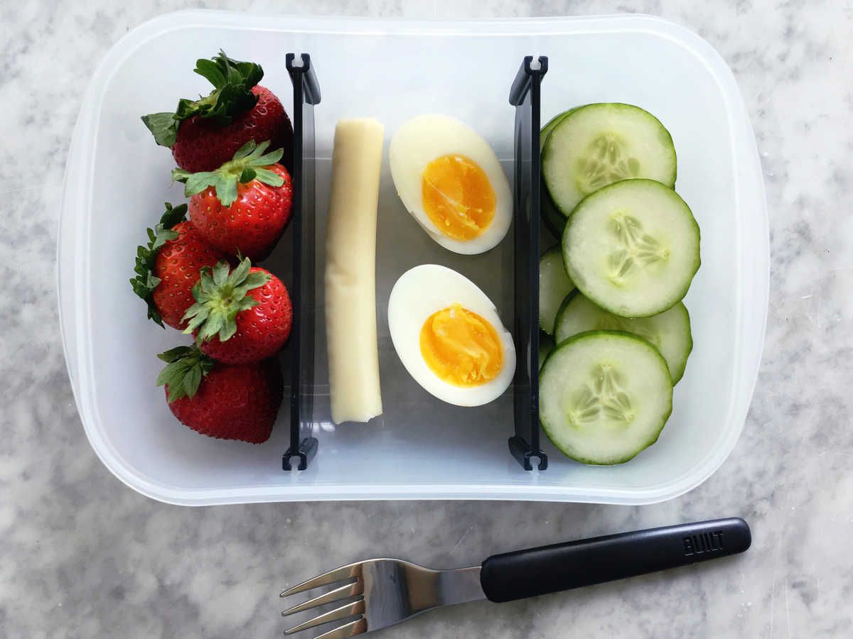 Egg Cheese Bento Box