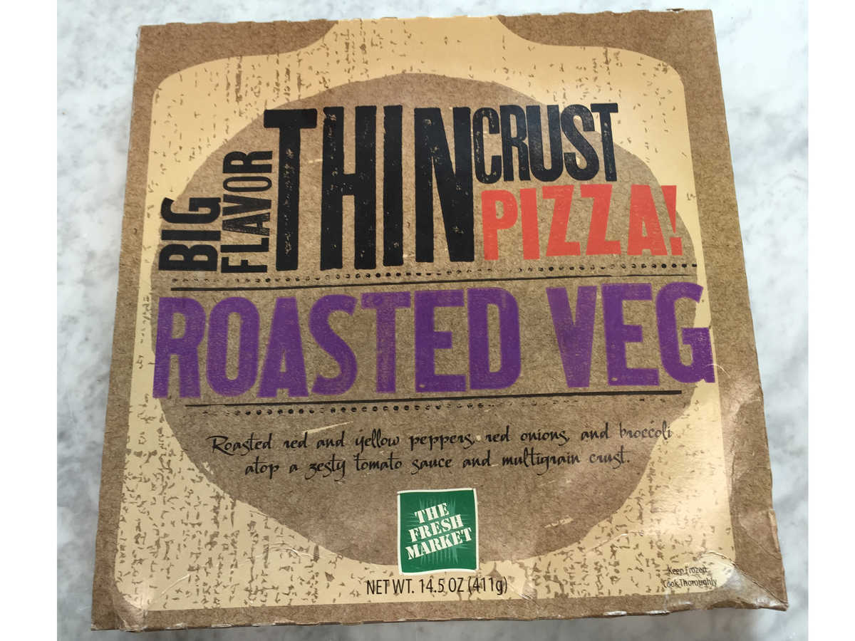 Fresh Market Roasted Vegetable Pizza