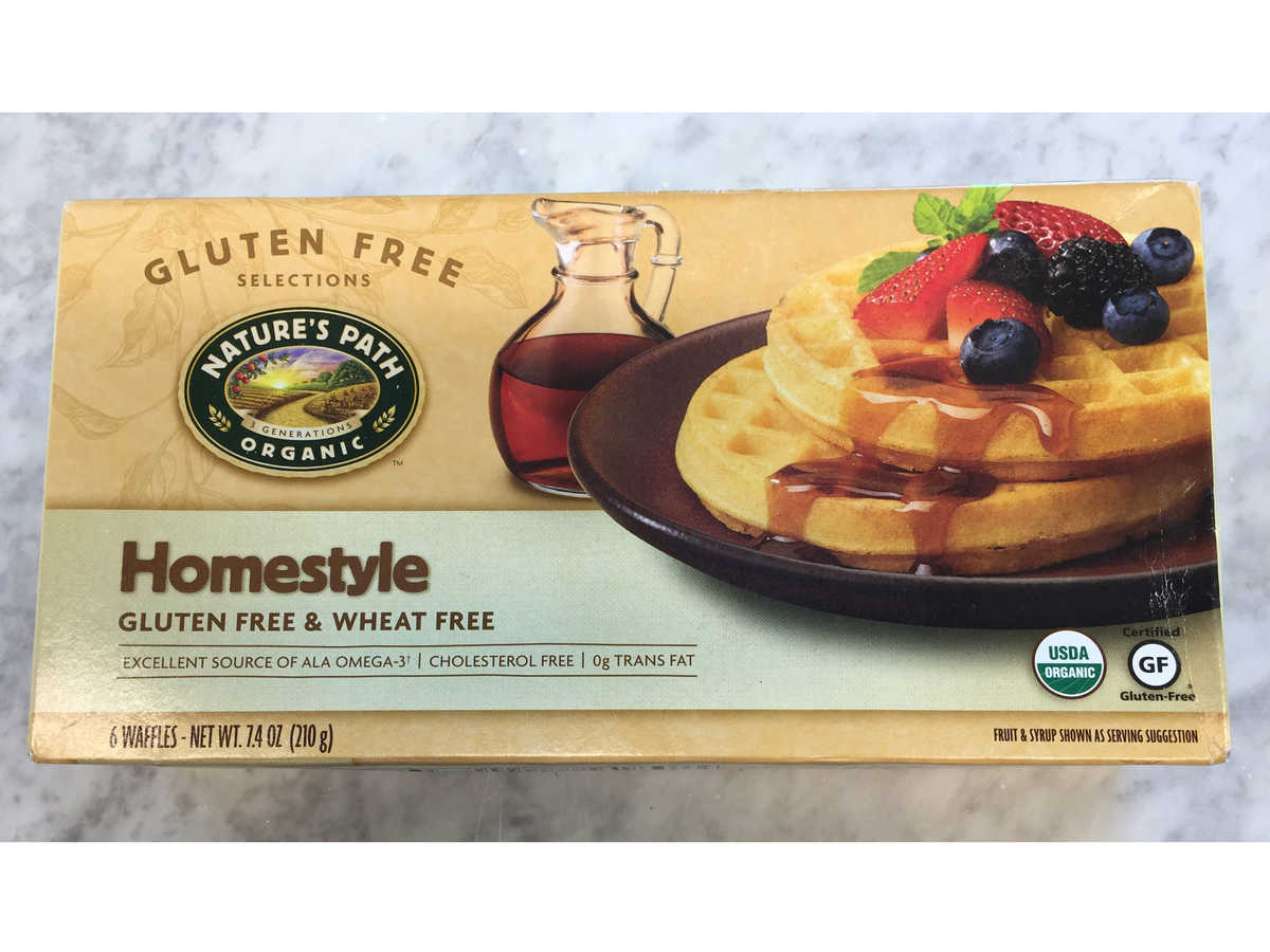Nature's Path Homestyle Waffles