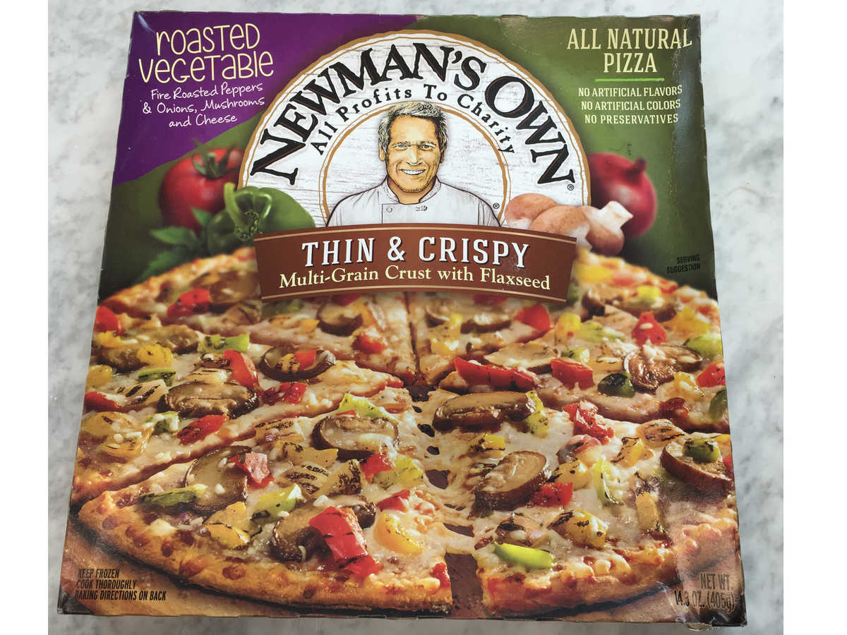 Newman's Own Roasted Vegetable Pizza