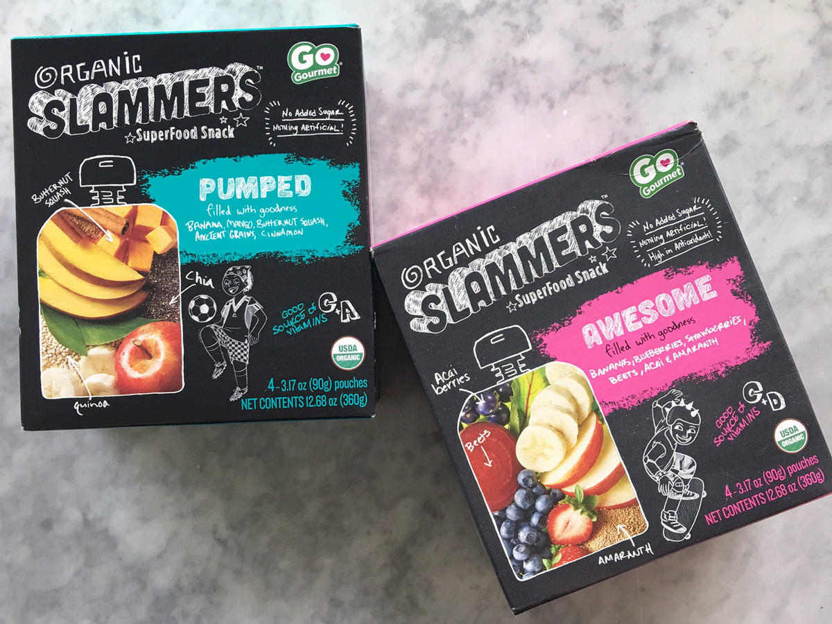 Go Gourmet Organic Slammers SuperFood Pouches