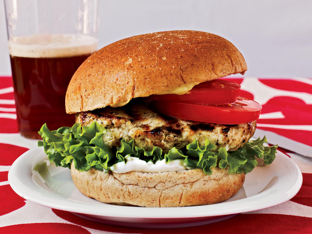 Chicken Burgers Recipe Cooking Light