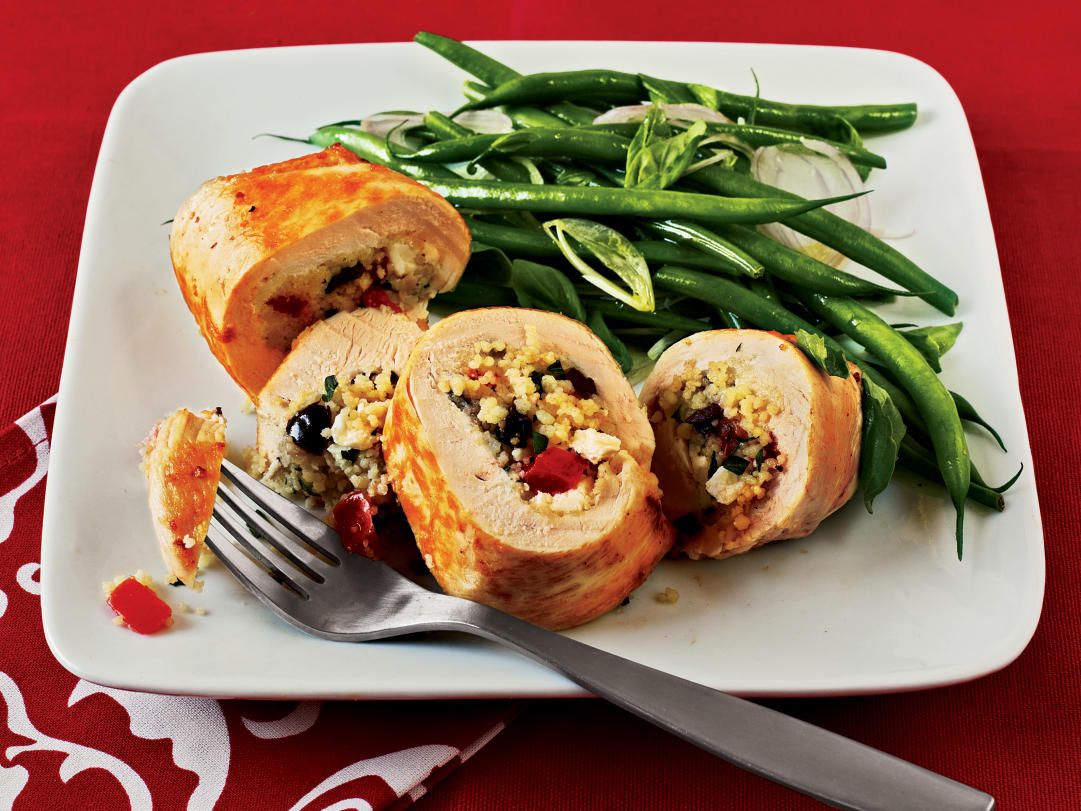 Couscous-Stuffed Chicken Recipe