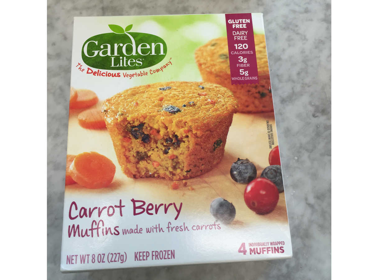Frozen Food Garden Lites Carrot Berry Muffins
