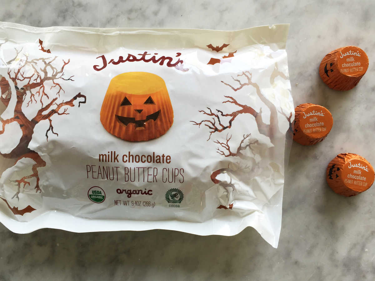 Halloween Justin's Milk Chocolate Peanut Butter Cups