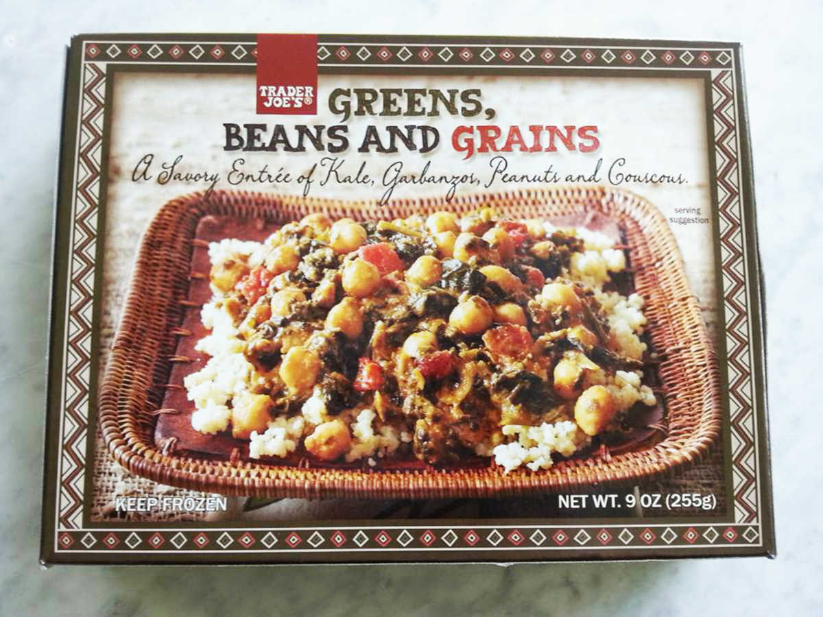 Frozen Food Trader Joe's Green Beans and Grains