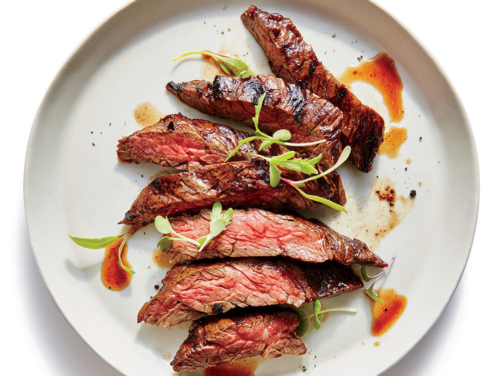 Friday: Grilled Flash-Marinated Skirt Steak