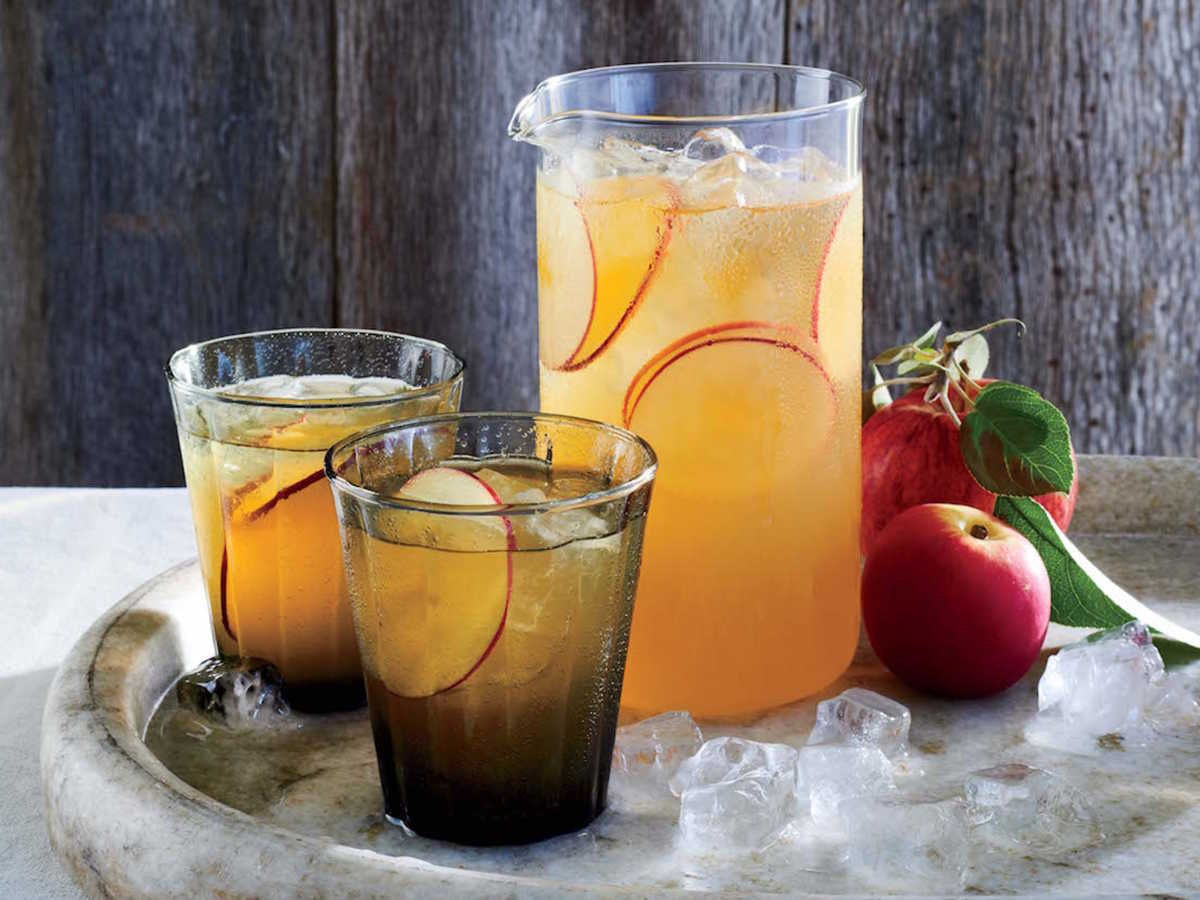 Honey Cider Cocktails