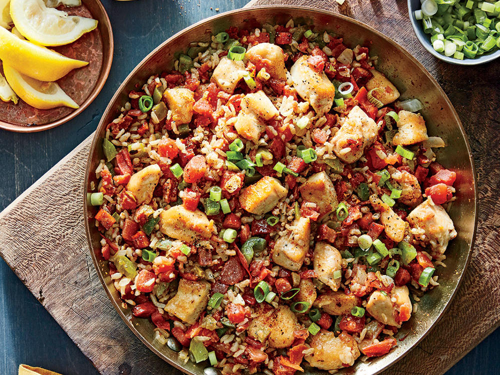 One-Pan Jambalaya