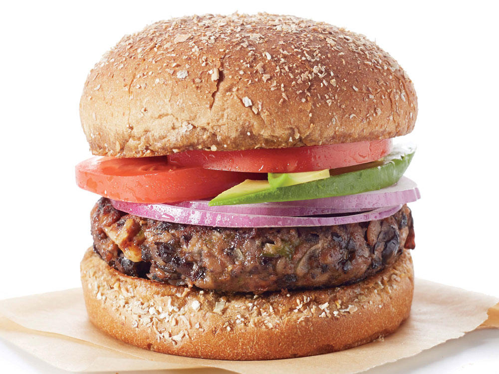 20-Minute Black Bean Burgers