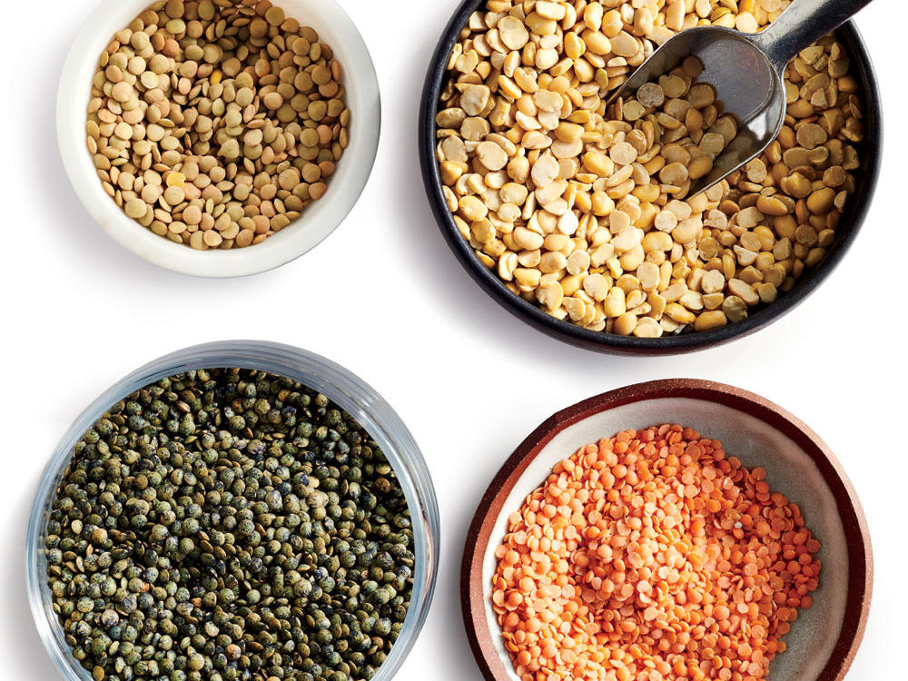 Types of Lentils