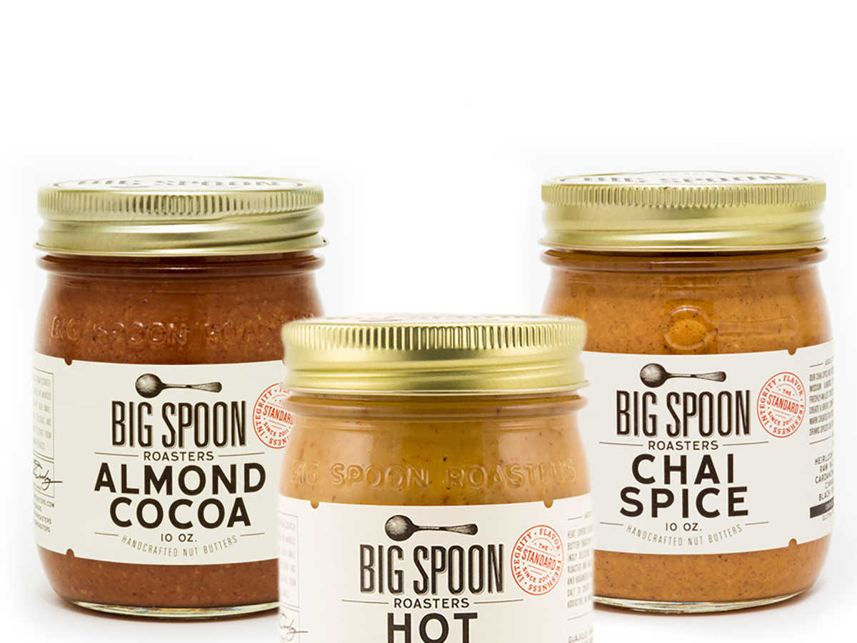 Big Spoon Roasters Nut Butter Trio
