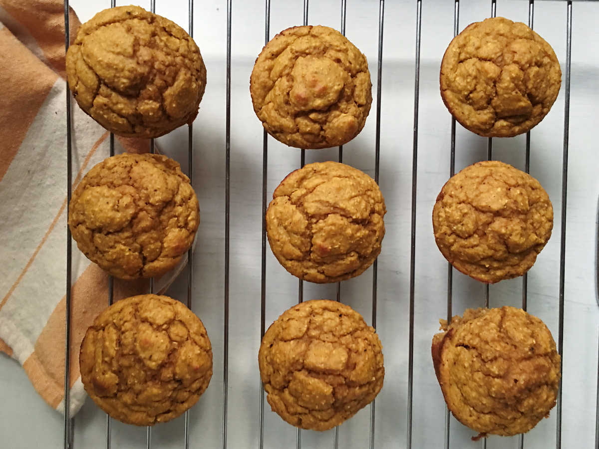 1610w Maple Pumpkin Blender Muffins