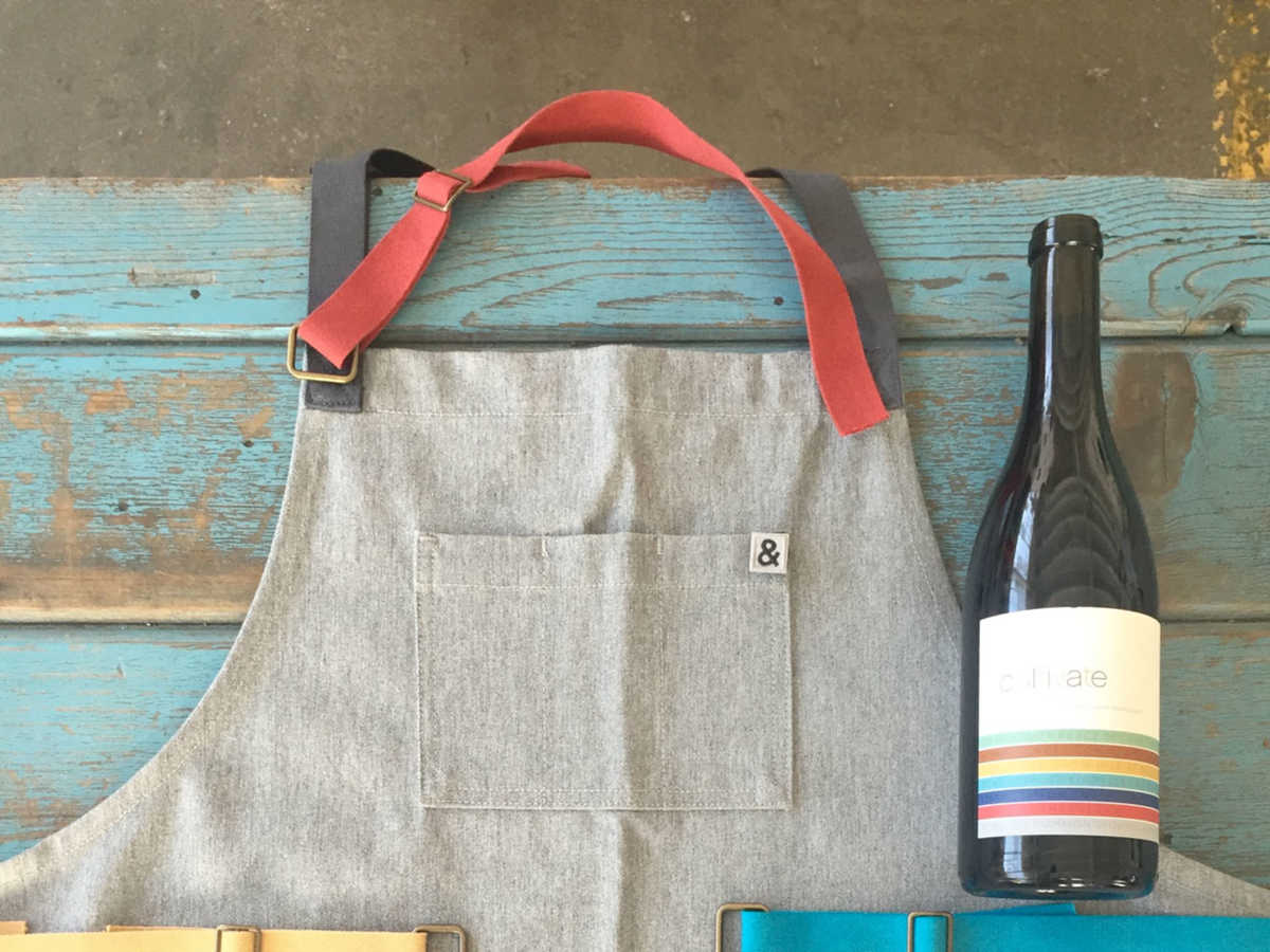 Cultivate Hedley Bennett Apron and Wines