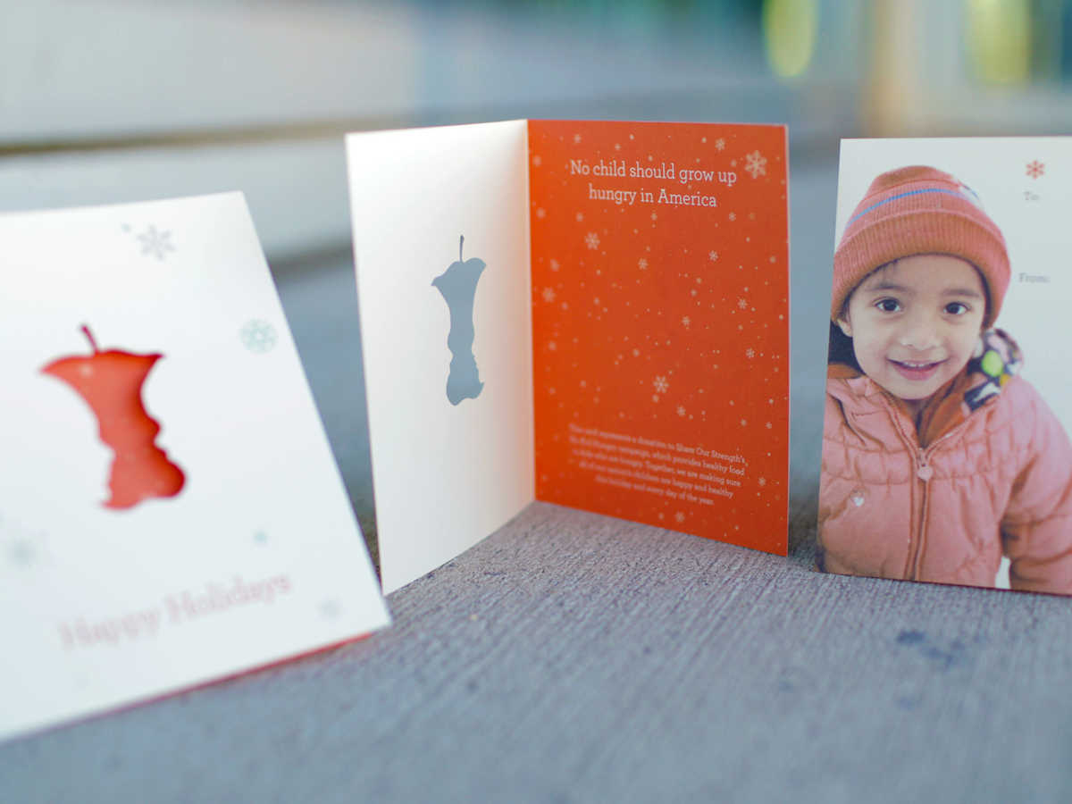 No Kid Hungry Holiday Cards