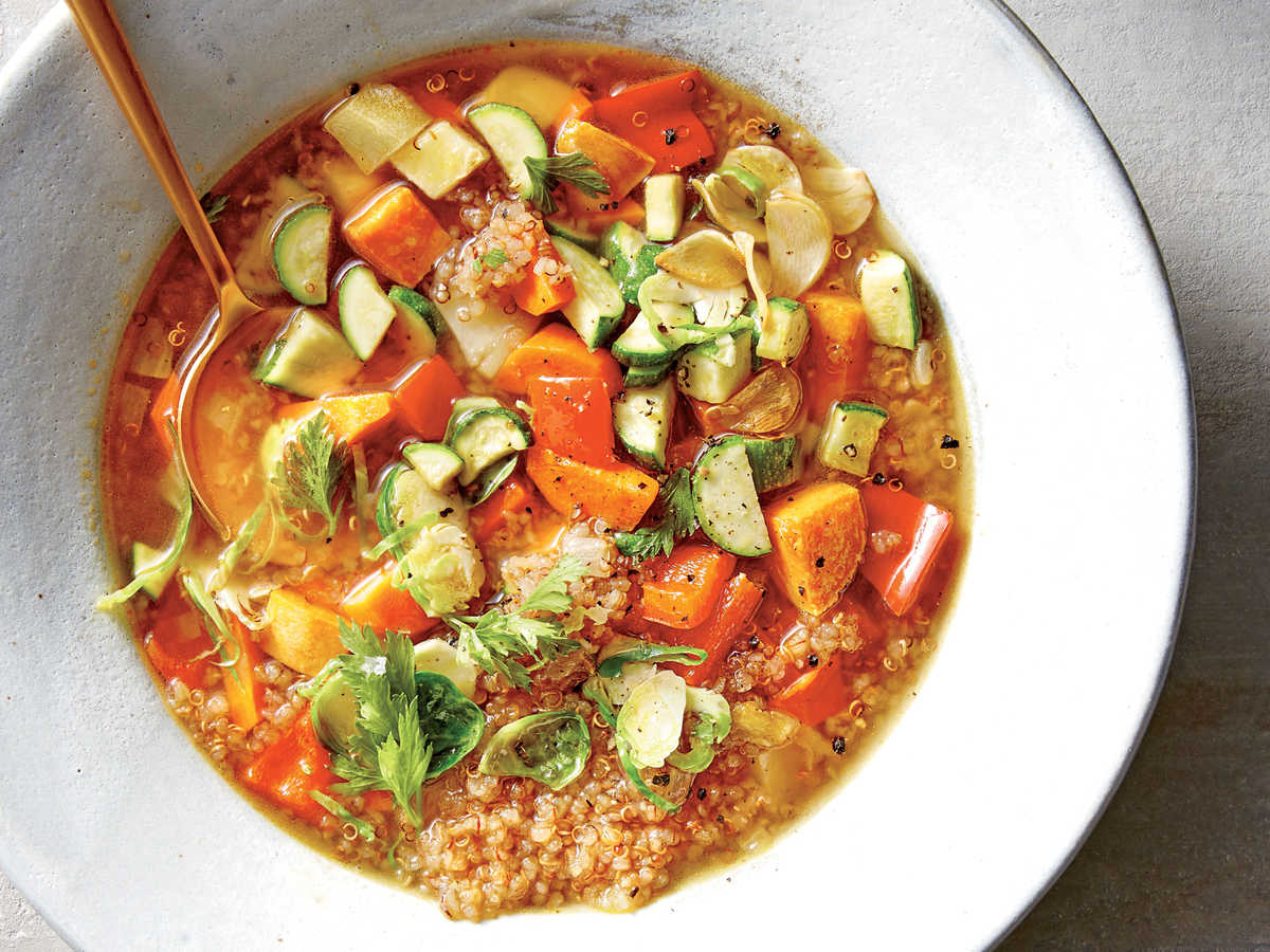 Vegetarian Soups and Stews - Cooking Light