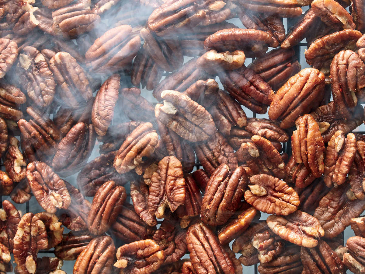 Smoked and Spiced Pecans