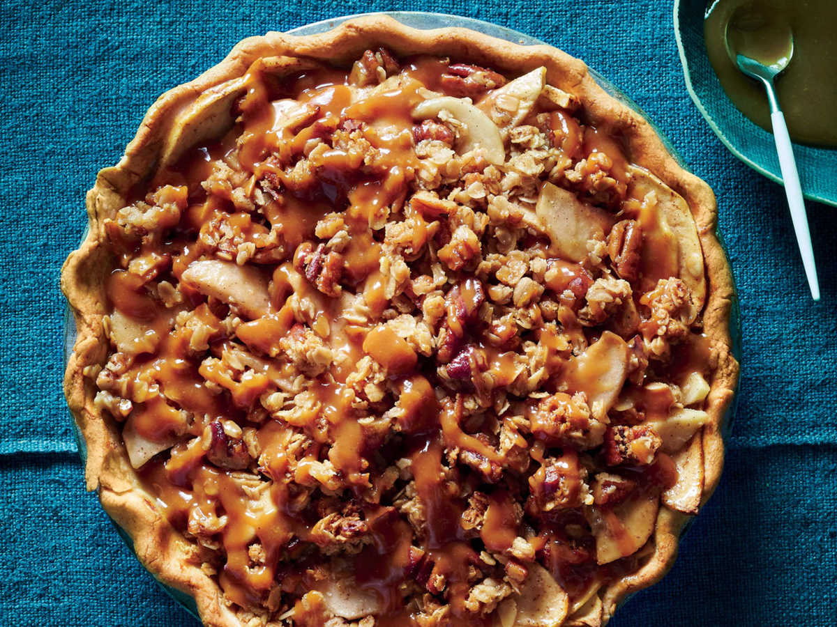 Miso Caramel-Apple Pie