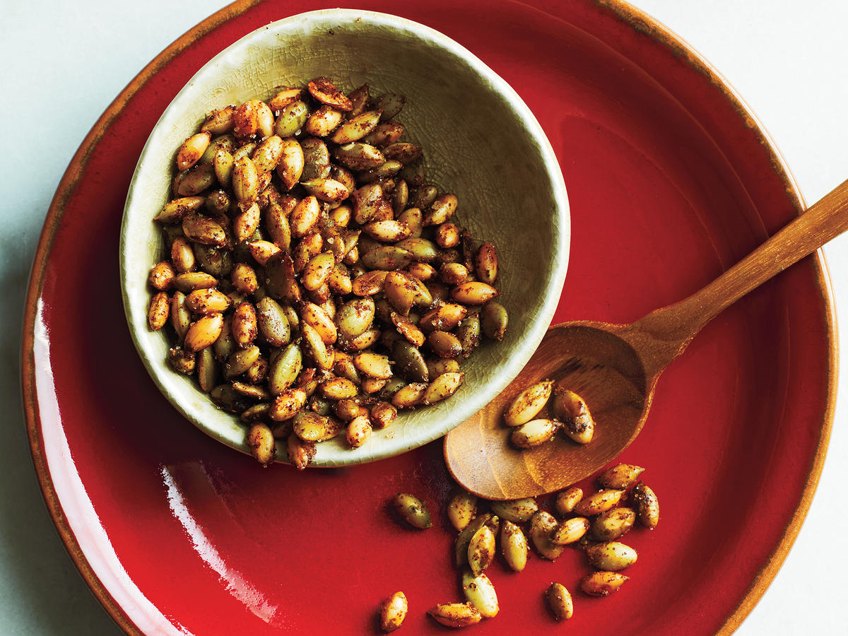 Sweet and Spicy Pumpkinseeds Recipe