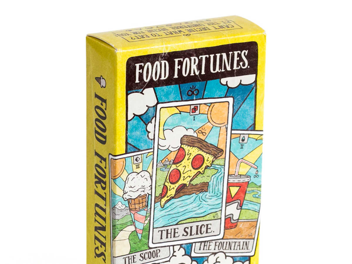 Perpetual Kid Food Fortunes Card Deck
