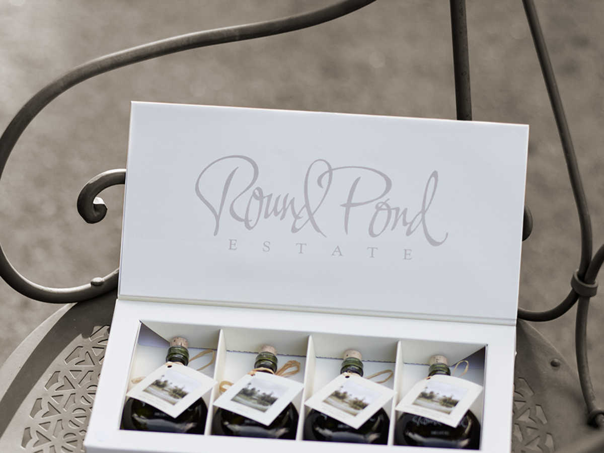 Round Pond Estate Mini 4-Bottle Oil Gift Set