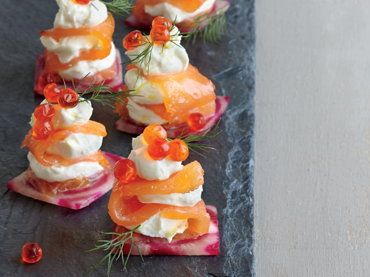 Smoked Salmon Bites