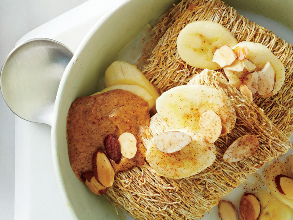 Banana-Nut Shredded Wheat