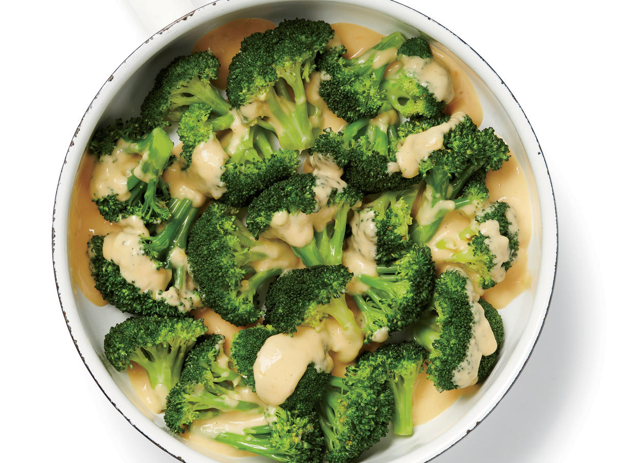 1701 Broccoli with Cheese Sauce