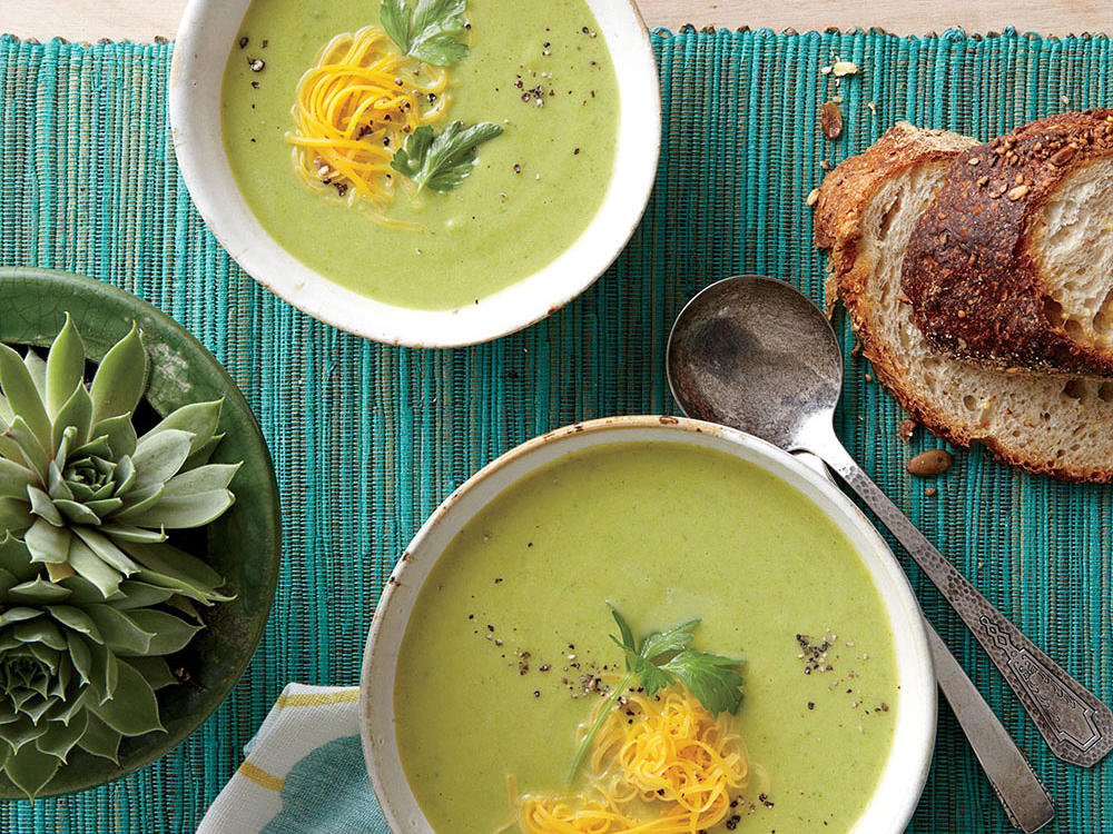 Broccoli-Cheese Soup Weight-Loss Plan