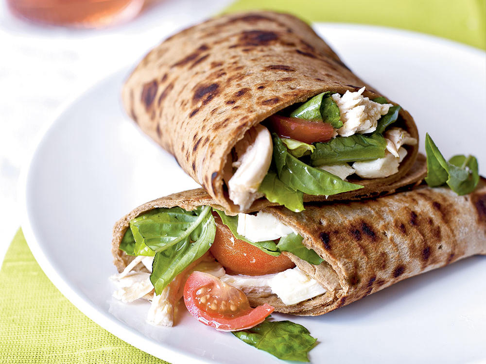 Caprese Wraps with Chicken Weight-Loss Plan