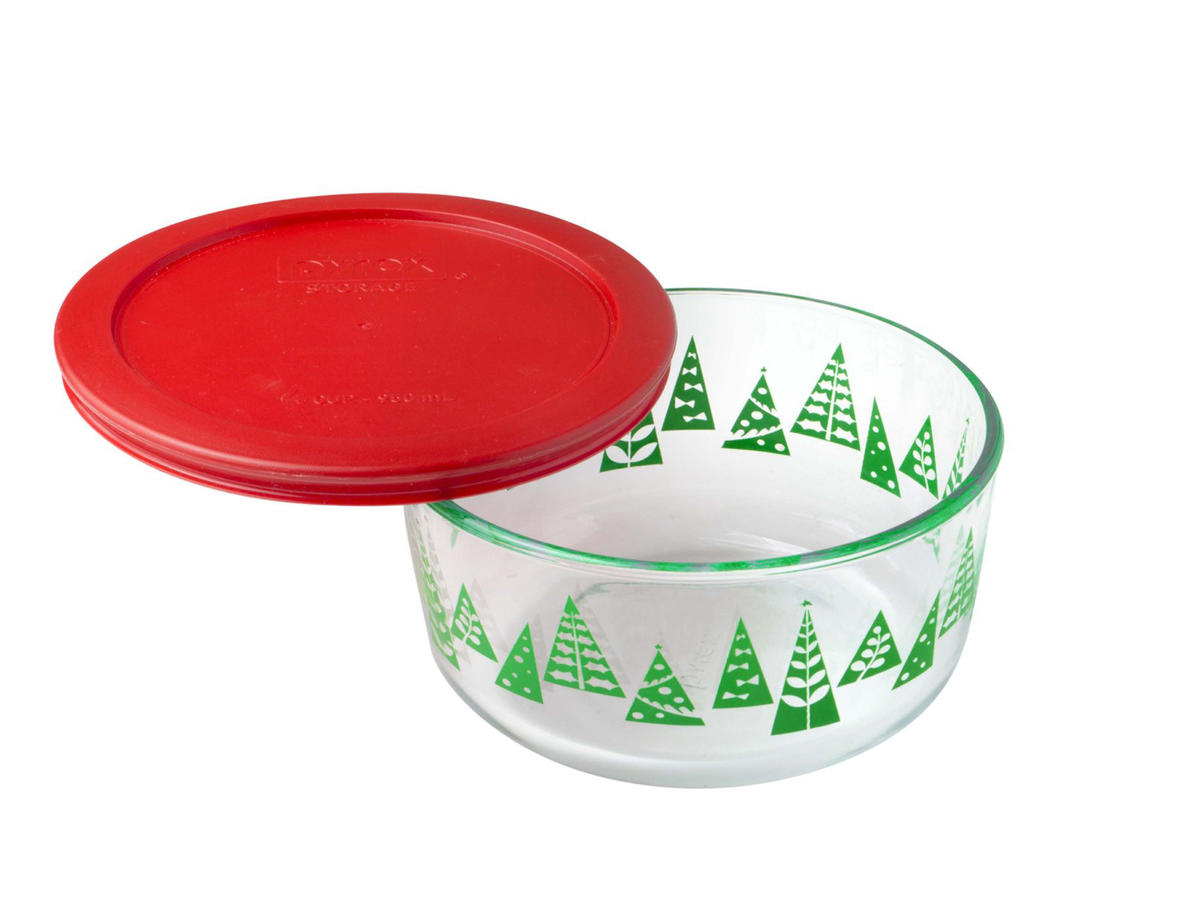 Holiday Pyrex Container