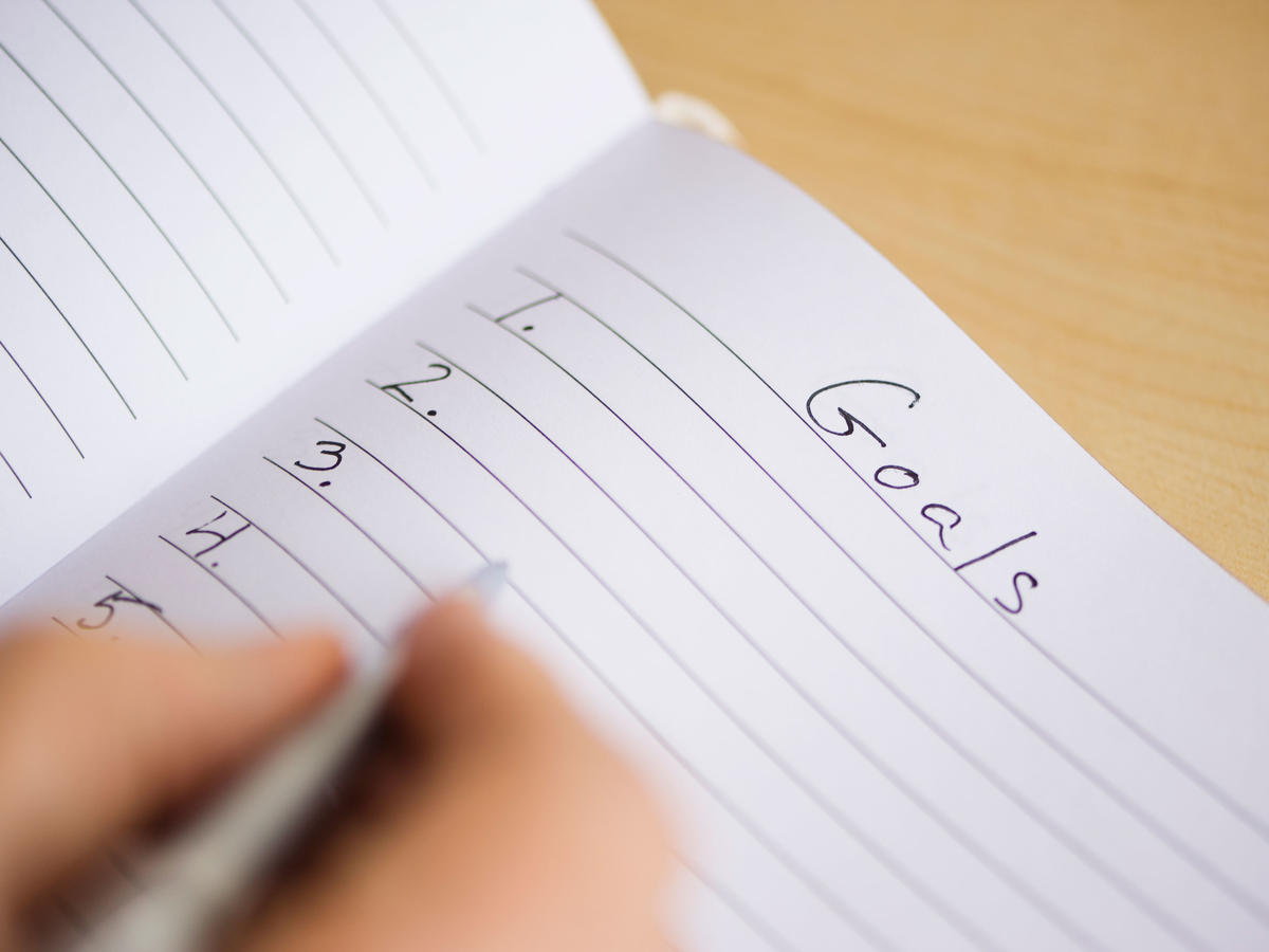 Setting Goals Resolutions