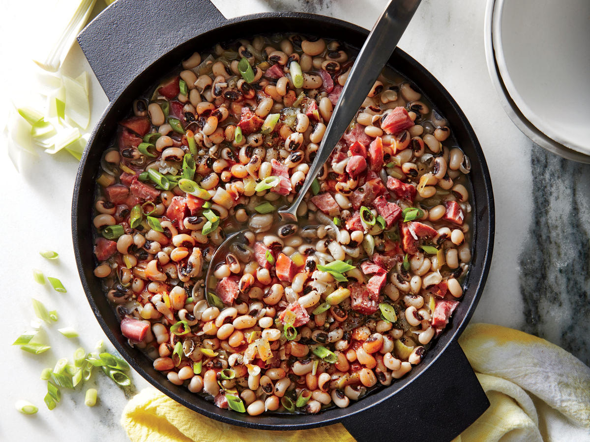 Smoky Black-Eyed Peas
