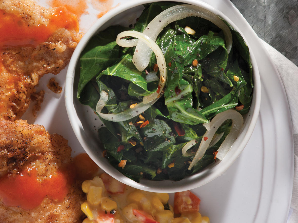 Stewed Collards