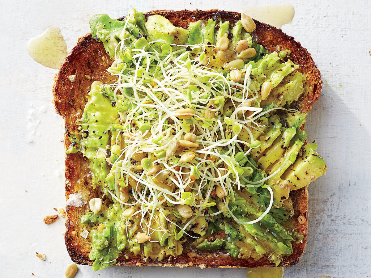 Avocado-Sprout Toast
