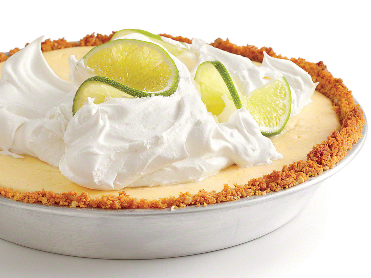 Lighter Key Lime Pie